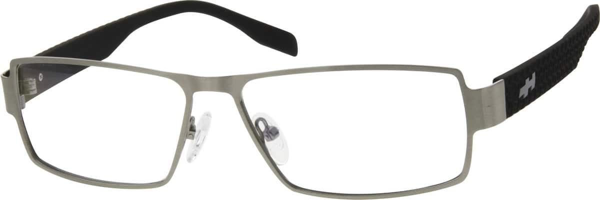 Men Full Rim Mixed Materials Eyeglasses #767015