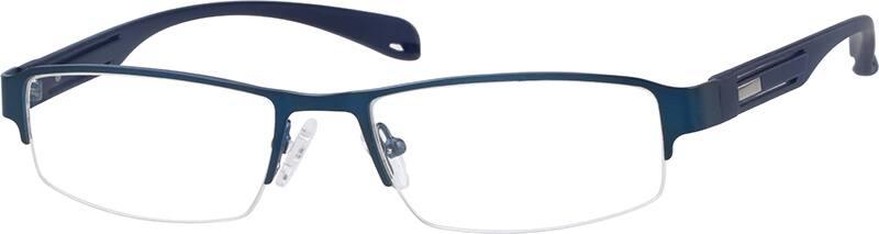 MenHalf RimMixed MaterialsEyeglasses #767116