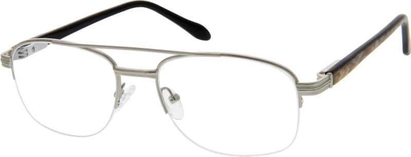 MenHalf RimMixed MaterialsEyeglasses #767512