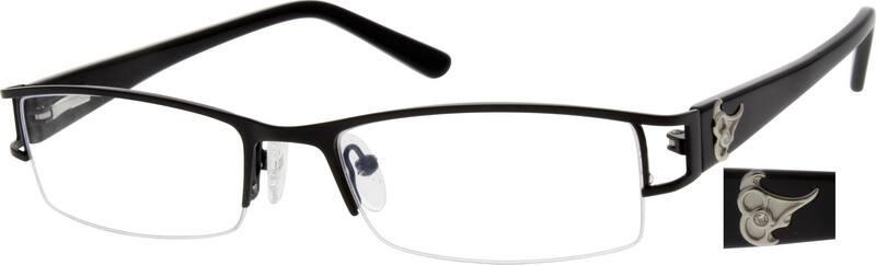 MenHalf RimMixed MaterialsEyeglasses #769015