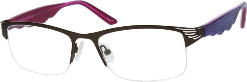 WomenHalf RimMixed MaterialsEyeglasses #770311