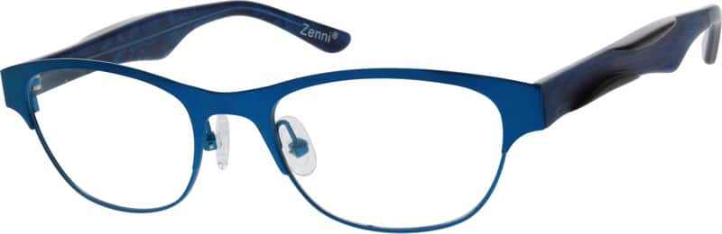 Women Full Rim Mixed Materials Eyeglasses #770416