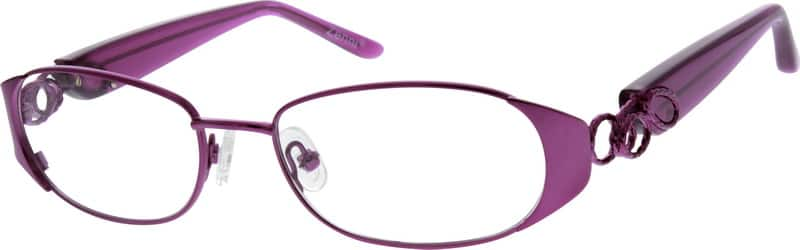 WomenFull RimMixed MaterialsEyeglasses #770711