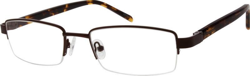 MenHalf RimMixed MaterialsEyeglasses #771012