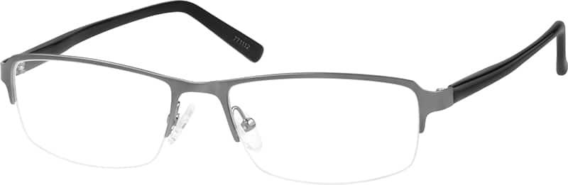 MenHalf RimMixed MaterialsEyeglasses #771112