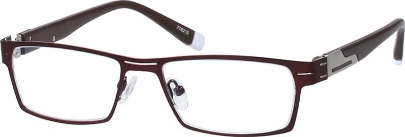 MenFull RimMixed MaterialsEyeglasses #776212