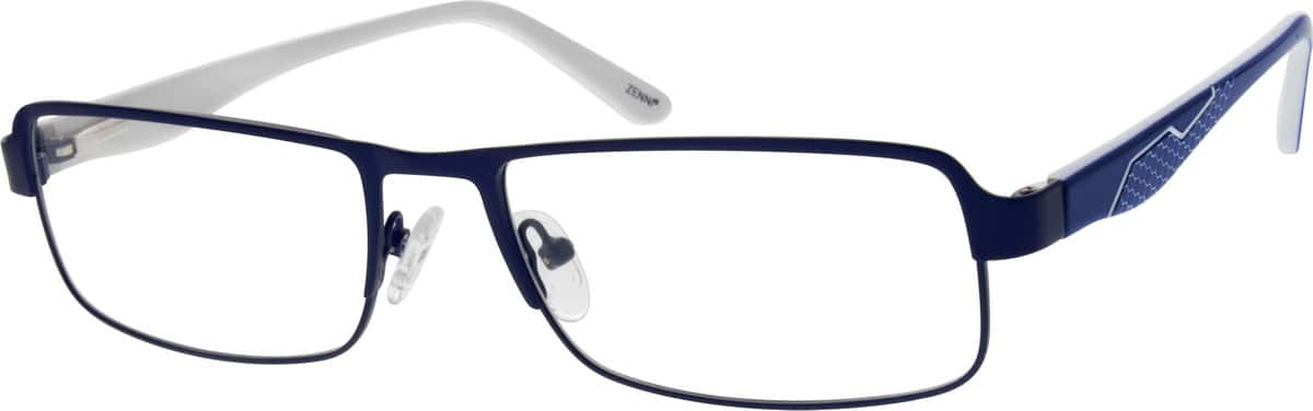Men Full Rim Mixed Materials Eyeglasses #776716