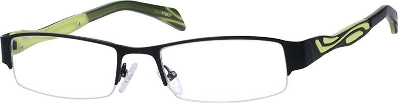 MenHalf RimMixed MaterialsEyeglasses #776821