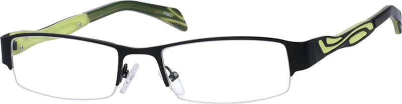 776821-stainless-steel-half-rim-frame-with-acetate-temples