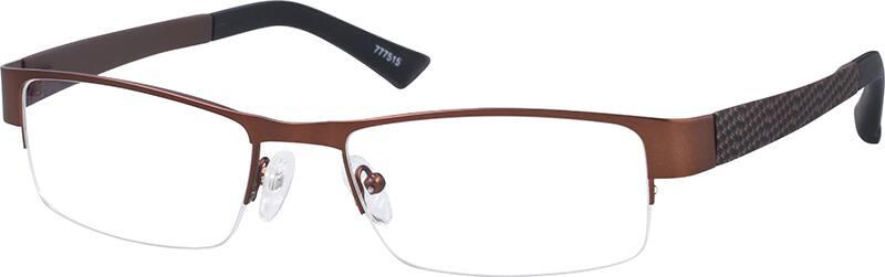 MenHalf RimMixed MaterialsEyeglasses #777515