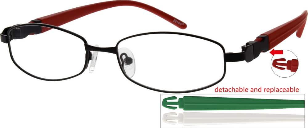 MenFull RimMixed MaterialsEyeglasses #779521