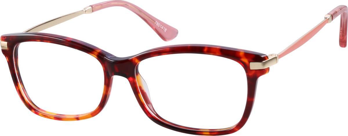 WomenFull RimMixed MaterialsEyeglasses #7801418
