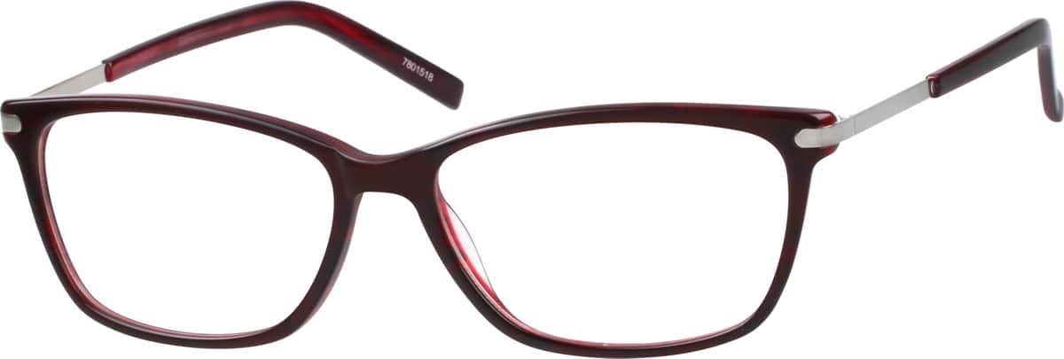 Women's Marsala Cat-Eye Eyeglasses