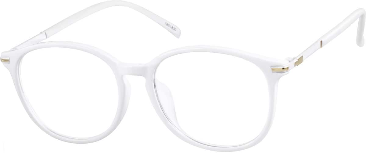 UnisexFull RimMixed MaterialsEyeglasses #7801812