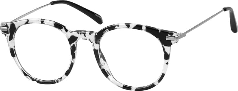 WomenFull RimMixed MaterialsEyeglasses #7802031