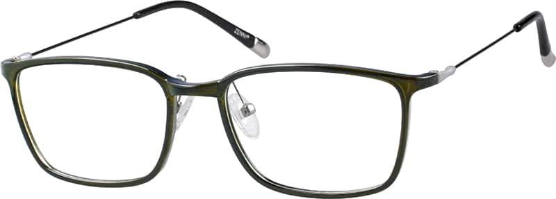 MenFull RimMixed MaterialsEyeglasses #7802324