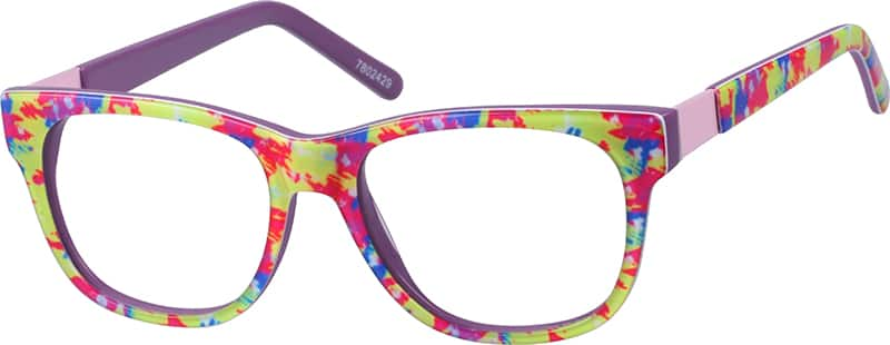 Girls' Tie-Dye Wayfarer Eyeglasses