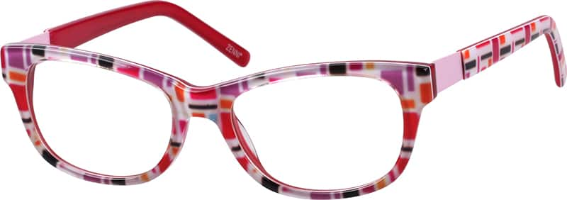 Girls' Vintage Cat-Eye Eyeglasses