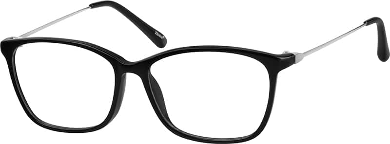WomenFull RimMixed MaterialsEyeglasses #7803121