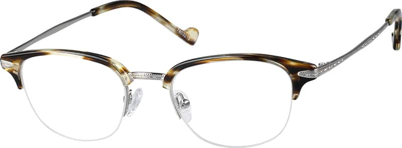 Brown Browline Eyeglasses #78032 Zenni Optical Eyeglasses