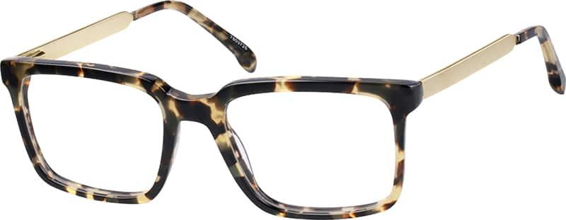 Zenni Tortoiseshell  Square Eyeglasses
