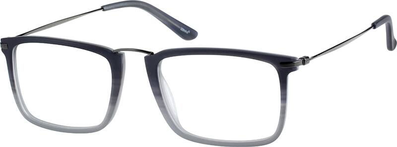 UnisexFull RimMixed MaterialsEyeglasses #7804221