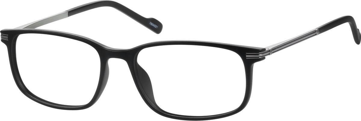 UnisexFull RimMixed MaterialsEyeglasses #7804515