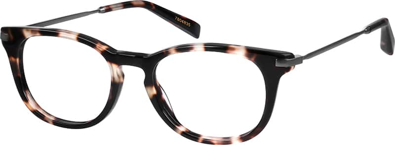 UnisexFull RimMixed MaterialsEyeglasses #7804825