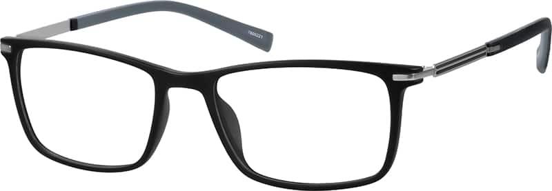 UnisexFull RimMixed MaterialsEyeglasses #7805221