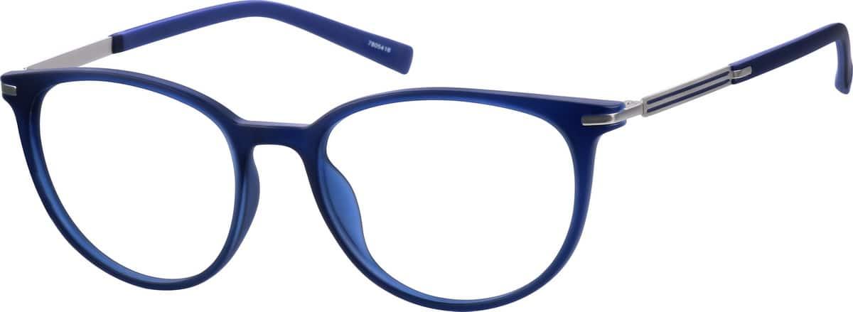 UnisexFull RimMixed MaterialsEyeglasses #7805416