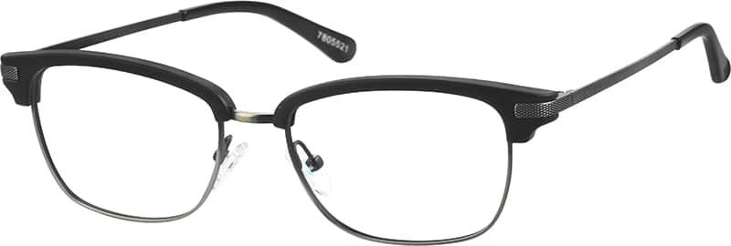 Browline Glasses Zenni Optical : Black Browline Eyeglasses #78055 Zenni Optical Eyeglasses