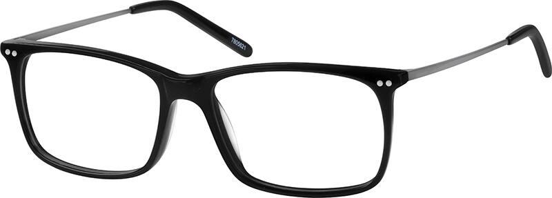 Thin Frame Black Glasses : Tortoiseshell Thin Acetate Eyeglasses #78056 Zenni ...