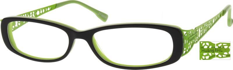 WomenFull RimMixed MaterialsEyeglasses #780630