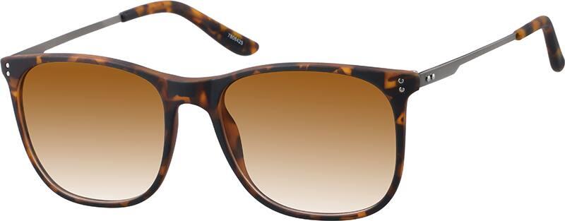 UnisexFull RimMixed MaterialsEyeglasses #7806421