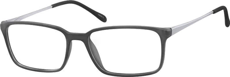 Men Full Rim Mixed Materials Eyeglasses #7806512