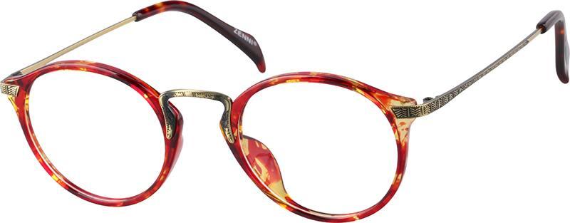WomenFull RimMixed MaterialsEyeglasses #7807118