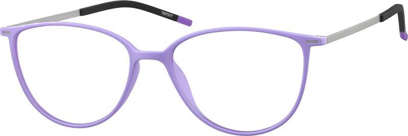 Pink Ultra Thin Cat-Eye Glasses #78073 Zenni Optical ...