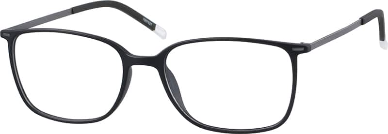 UnisexFull RimMixed MaterialsEyeglasses #7807625