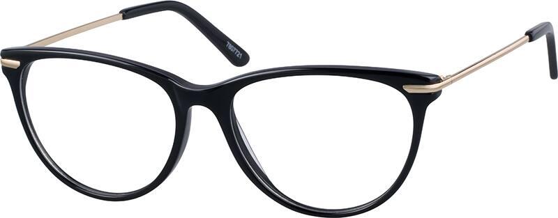 WomenFull RimMixed MaterialsEyeglasses #7807721