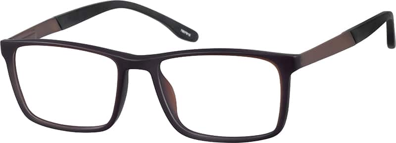 Sporty Rectangle Eyeglasses