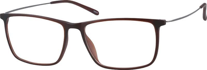 UnisexFull RimMixed MaterialsEyeglasses #7808416