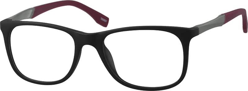 UnisexFull RimMixed MaterialsEyeglasses #7808621