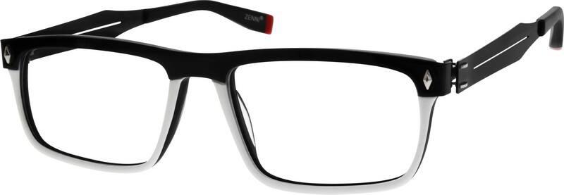 MenFull RimMixed MaterialsEyeglasses #780921