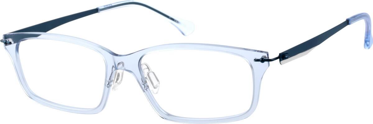 UnisexFull RimMixed MaterialsEyeglasses #7809615