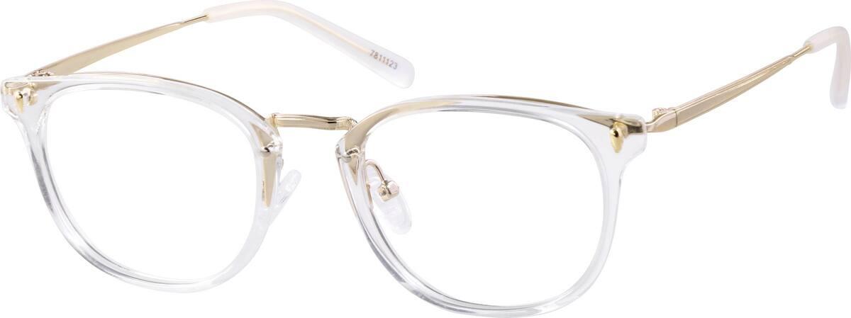 Zenni Optical Square Glasses : Translucent Square Glasses #78111 Zenni Optical Eyeglasses