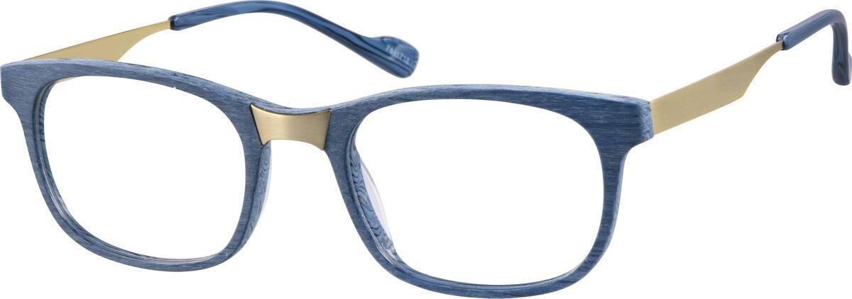 UnisexFull RimMixed MaterialsEyeglasses #7811712
