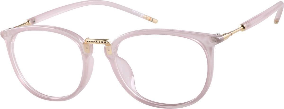 My Glasses Frames Are Peeling : Pink Square Glasses #78118 Zenni Optical Eyeglasses