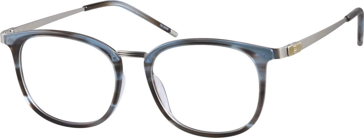 How To Identify Glasses Frame Material : Pattern Square Glasses #78120 Zenni Optical Eyeglasses