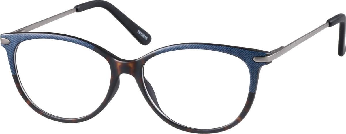 WomenFull RimMixed MaterialsEyeglasses #7812621