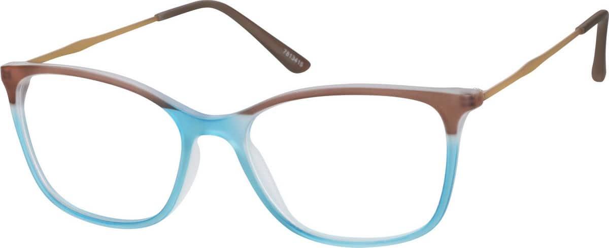 WomenFull RimMixed MaterialsEyeglasses #7813418